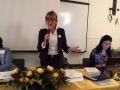 010 Elena Federici, presidente Zontaitalia, relaziona sulle attività del biennio