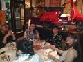 Il tavolo della presidenza con Fernanda, Simonetta, Anna Girello presidente ZC Alessandria e Nadia Biancato Direttore Internazionale ZI