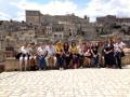 Delegate in visita ai Sassi
