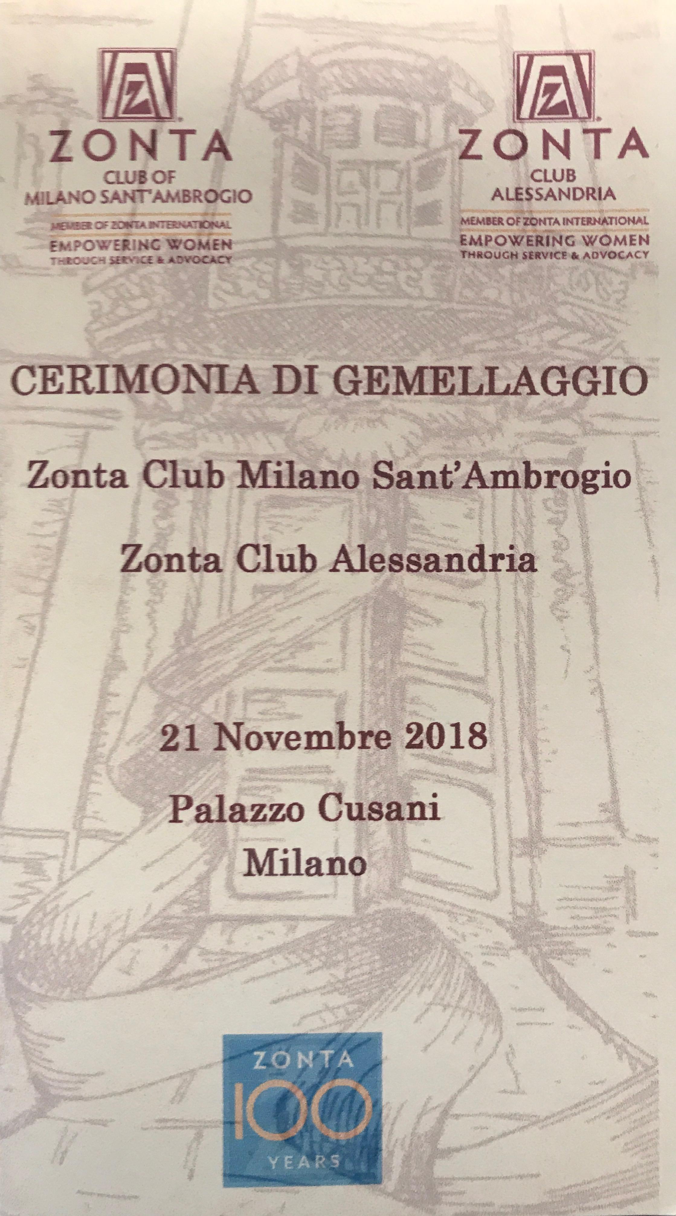 01_21 novembre Gemellaggio con ZC Alessandria