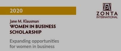 Il premio distrettuale JMK – Women in Business assegnato alla nostra candidata milanese
