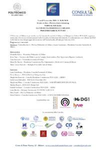 La rappresentante dello ZC Milano Sant'Ambrogio presso la Consulta Femminile Milanese terrà la relazione conclusiva all'incontro con il Board del W20 Italiano